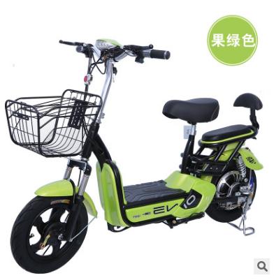 新款电动车成人电动自行车48V小型电瓶车男女代步电